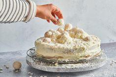 Schnee-Torte Vanilla Cake, Tiramisu, Ethnic Recipes, Desserts, Food, White Chocolate, Food Cakes, Master Chef, Kid Cooking