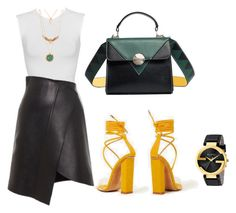 """""""Untitled #1918"""" by krocker on Polyvore featuring Lenox and Gucci"""