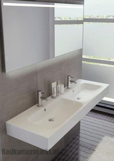 Huis badkamer on pinterest solid surface white bathrooms and tile - Huis wastafel ...