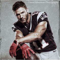 Julian Edelman - photo by David Silverman (from BH 90210?)