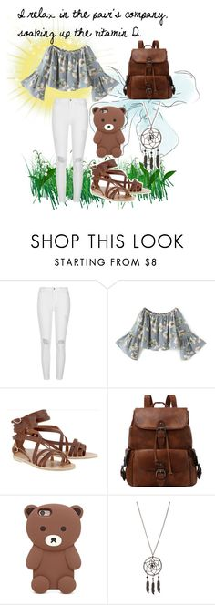 """""""Nine"""" by tear-bear ❤ liked on Polyvore featuring River Island, Ancient Greek Sandals, Forever 21 and Hot Topic"""