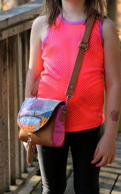 FREE The Sweet Pea Saddle Bag - PDF Sewing Pattern