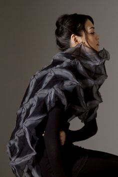 Signature Dimensional Wrap - Iki Collection [Amy Nguyen Textiles]