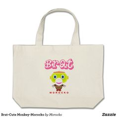 love is everything-Cute Monkey-Morocko Large Tote Bag - accessories accessory gift idea stylish unique custom Love Is Everything, Cute Monkey, Almost Famous, Good Vibes Only, All You Need Is Love, Bag Accessories, Birthday Gifts, Reusable Tote Bags, Totes