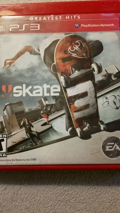 Skate 3 (Sony PlayStation for sale online Video Game Party, Party Games, Video Games, Ps4, Playstation, Skate 3, Greatest Hits, Games To Play, Sony