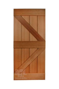 Western Red Cedar Barn Door  Shed Door Design Ideas