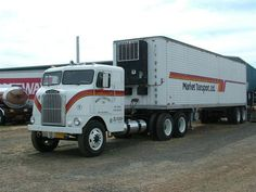 White Freightliner