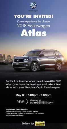 Youre Invited, Driving Test, Volkswagen