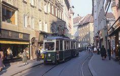 Murgasse, Graz, 17. Oktober 1978 Graz Austria, Street View, Europe, Pictures, Train, Old Pictures, Viajes, Photos, Grimm