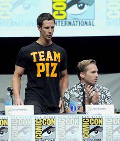 Veronica Mars SDCC panel - Logan is Team Piz, Piz is Team Logan, Dick is Team Dick