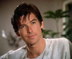 Pierce Brosnan as Remington Steele. Pierce Brosnan, Most Handsome Men, Handsome Actors, Irish Eyes Are Smiling, Magazine Pictures, James Bond Movies, Hollywood Celebrities, Male Celebrities, Beautiful Celebrities