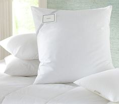 Pottery Barn Pillow Inserts Entrancing Luxury Loft Pillow Standard  Luxury Loft Alternative And Pillows Decorating Inspiration