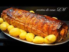 LOMO RELLENO PARA NAVIDAD Y FIN DE AÑO Y COMO ABRIR UN LOMO - YouTube Pork Recipes, Mexican Food Recipes, Chicken Recipes, Cooking Recipes, Pork Dishes, Tasty Dishes, Mexico Food, Xmas Food, Carne Asada