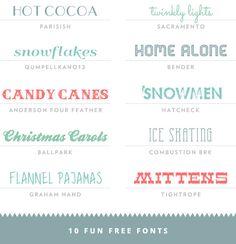 free fonts haul v4
