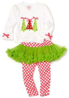 Little Girls Christmas Outfit - Triple Tree Ornament Set SIZES UP TO 5T 4T Mud Pie,http://www.amazon.com/dp/B008Z90DM8/ref=cm_sw_r_pi_dp_fcvjsb0B4PP2Q6DN