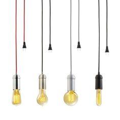Globe Electric 1-Light Matte Black Vintage Plug-in Hanging Socket Pendant with Black Rope-65114 - The Home Depot