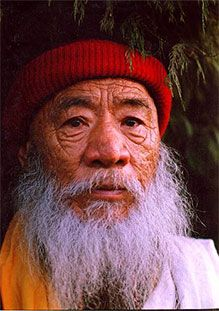 His Holiness Chatral Sangye Dorje Rinpoche (1913 - )