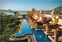 The Oberoi Udaivilas in Udaipur is located in a city of majestic palaces and beautiful lakes. Designed as a traditional Indian palace, the Oberoi Udaivilas captures all the romance and splendor of a royal era. Walking inside the hotel is like traveling back in time. The semi-open rooms with balconies and private swimming pools are a unique feature of Udaivilas. Its luxurious spa overlooking the lake is a haven of serenity, experts take care of the body and soul of guests. The grand setting co...