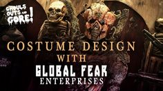 Find inspiration for your Halloween Costume with Global Fear!   Ghouls, Guts, and Gore once again take you to the America Center in Saint Louis, MO for the Transworld Halloween and Attractions Show! In Part Four of our Transworld series timed for October, we discuss the art of costume designing with Global Fear Enterprises!