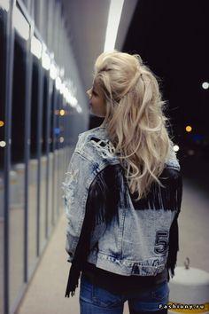 Alina Ceusan   Алина Цеусан Grunge Girl, New Trends, Personal Style, Winter Fashion, Punk, Style Inspiration, Denim, My Style, Coat