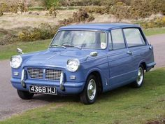 1959-1971 TRIUMPH HERALD ESTATE CAR - designed by Giovanni Michelotti of Turin