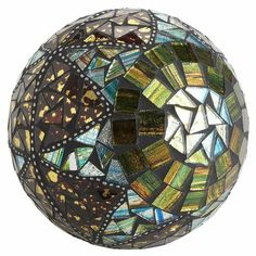 Patchwork Design Mosaic Sphere