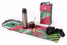 matera de diseño chilly sandia bolso matero mantel Neoprene, Gym Bag, Picnic, Backpacks, Purses, Sewing, Kitchen Utensils, Bags, Skateboard