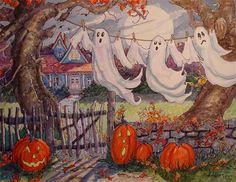 Halloween Cartoons, Halloween Books, Halloween Pictures, Holidays Halloween, Happy Halloween, Whimsical Halloween, Haunted Halloween, Halloween Witches, Halloween Stuff