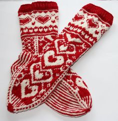 Soft and luxurious Valentines Day socks. by sosoftboytique