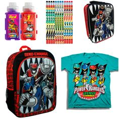Power Rangers Dino Charge Back To School Giveaway {ends 8/28}
