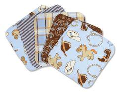 Trend Lab Set of 5 Wash Cloth, Cowboy Baby Trend Lab,http://www.amazon.com/dp/B00511SCBW/ref=cm_sw_r_pi_dp_eG0Wsb0TQ4Q3M0DC