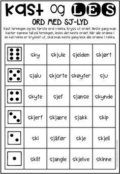 Barn Crafts, Norway Language, Teachers Pet, Language Development, Second Grade, Phonics, Kids And Parenting, Teaching Kids, Literacy