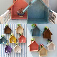 Estantería HOUSE WOOD 25x23,5