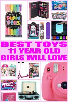 Kids Would Love Any Of These Toys From This Ultimate Toy Gift Guide Find The Best Perfect For Eleven Year Old Girl Birthdays
