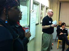 Making notes: Kickoff of Community Conversations