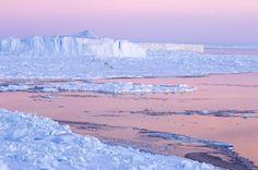 Iceberg at sunset Snow Hill Island - Antarctica  www.daisygilardini.com