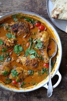 Enkel indisk i hverdagen - godt for sjelen. For denne og andre gode indiske oppskrifter besøk en av Norges mest populære matblogger, Mat på Bordet.