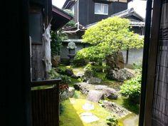 直島 古民家の庭