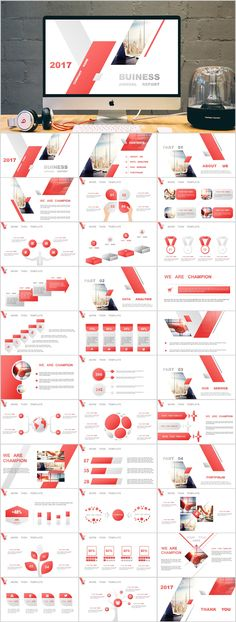 34 red business lowpoly PowerPoint templates - Powerpoint Templates - Ideas of Powerpoint Templates - 34 red business LOWPOLY PowerPoint templates Simple Powerpoint Templates, Professional Powerpoint Templates, Keynote Template, Professional Powerpoint Presentation, Presentation Software, Corporate Presentation, Presentation Design, Presentation Slides, Brochure Design