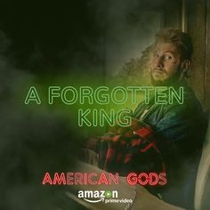 AMERICAN GODS — A PRAYER FOR MAD SWEENEY Series Movies, Tv Series, Mad Sweeney, Pablo Schreiber, God Help Me, American Gods, Comic Games, Famous Men, Sci Fi Fantasy