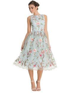 Chi Chi London floral chiffon dress
