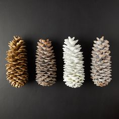Waxed Sugar Pine Cone - Terrain Pinecone Centerpiece, Pinecone Ornaments, Centerpieces, Pine Needle Crafts, Pine Cone Crafts, Pine Cone Decorations, Flower Decorations, Pinecone Wedding Decorations, Faux Flowers