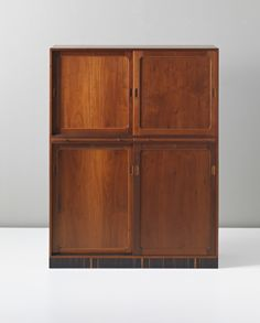 Kaare Klint . 1933 a simple cabinet with good proportions...