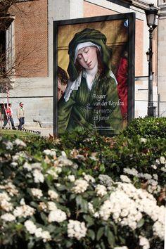 """Cartel de la Exposición de """"Rogier van der Weyden (h.1399-1464)"""" en el Museo del Prado. Madrid.#Cartel #Affiche #Arterecord 2015. https://twitter.com/arterecord"""
