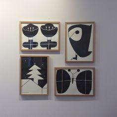 Japanese Illustration, Monochrome, Clock, Yamamoto, Cute, Decor, Watch, Japan Illustration, Decoration