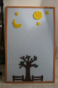 Charming the Birds from the Trees: An Easy Felt Board...