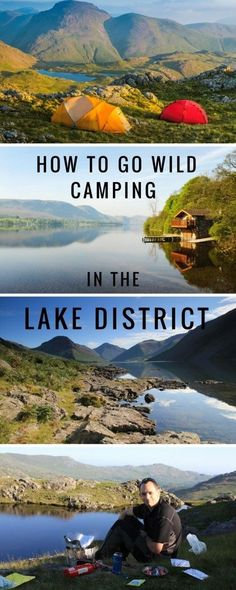 Wild camping in the Lake District - how to do it! - Conversant Traveller - Wild Camping in the Lake District – how to do it, where to go and what gear you need to take. Yellowstone Camping, Lake Camping, Camping List, Winter Camping, Outdoor Camping, Camping Gear, Lake District Camping, Backpacking Gear, Camping Checklist