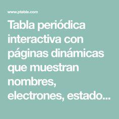 Tabla peridica en 3 dimensiones tabla peridica pinterest tabla peridica en 3 dimensiones tabla peridica pinterest tabla y castellanos urtaz Gallery