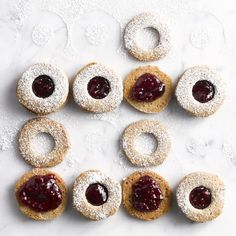 Buckwheat Linzer Cookies | Williams Sonoma