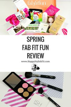 Click to find out what was inside the Fab Fit Fun Spring 2016 box